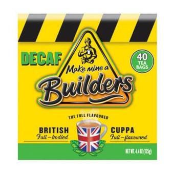 Builders Decaf Tea 40  bags