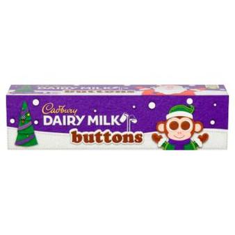 Cadbury Buttons Christmas Tube
