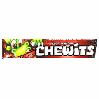 Chewits Cola Flavour chews.