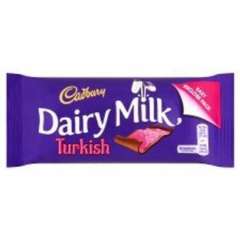 Cadbury Dairy Milk Turkish Delight Bar