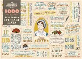 Jane Austen 1000 piece puzzle