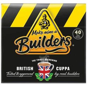 Builders Tea 40 Tea bags