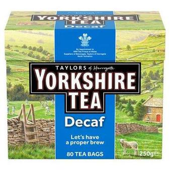 Yorkshire Decaf Tea 80 Tea Bags