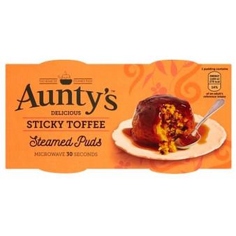 Aunty's Sticky Toffee Pudding