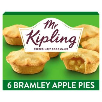 Mr Kipling Bramley Apple Pies box