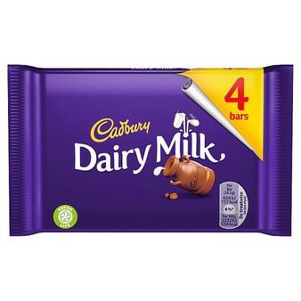 Cadbury Dairy Milk 4 packet