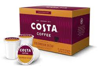 Costa Coffee Colombian Decaf Pods