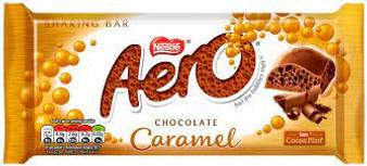 Aero Chocolate Caramel Sharing Bar