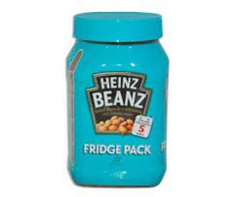 Heinz Bean Fridge Packet