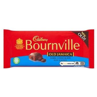 Bournville Old Jamaica Dark Chocolate Rum & Raisin