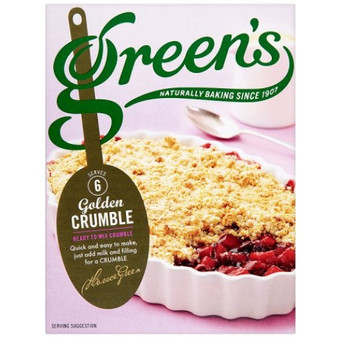 Greens Crumble Topping Mix