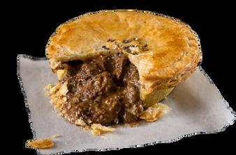 Pouch Pepper Steak Pie