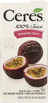 Ceres Passion Fruit Juice Blend