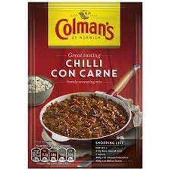 Colmans Chilli Con Carne Mix