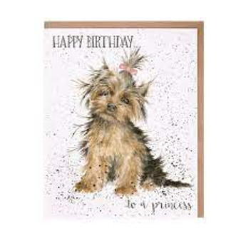 Wrendale Happy Birthday Princess Card