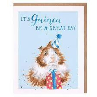 Wrendale It's Guinea Be a Great Day Card