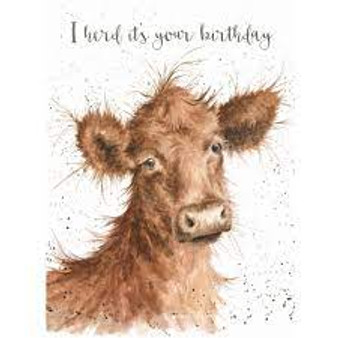 Wrendale I herd its your birthday Card