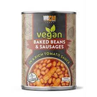 Vegan Baked beans & Sausages
