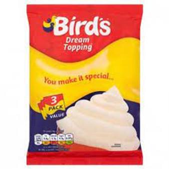 Bird's Dream Topping 3 packet