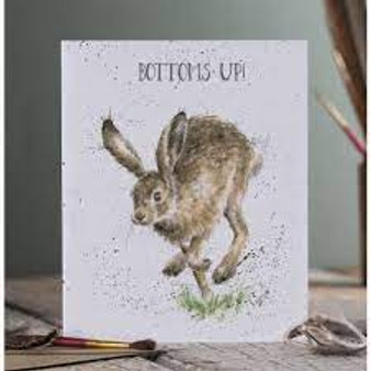Bottoms Up Wrendale Card