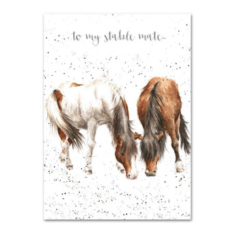 Wrendale Stable Mate Card