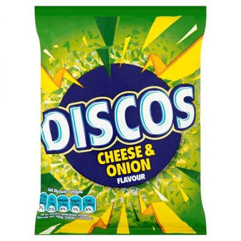 Discos Cheese and Onion flavour