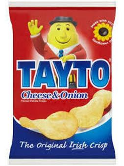 Tayto Cheese & Onion Crisps