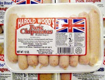 Pork Chipolates - FROZEN PICK UP ONLY
