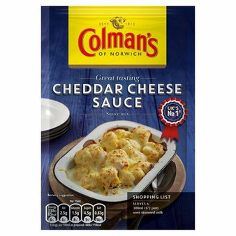 Colman's Cheddar Cheese Sauce