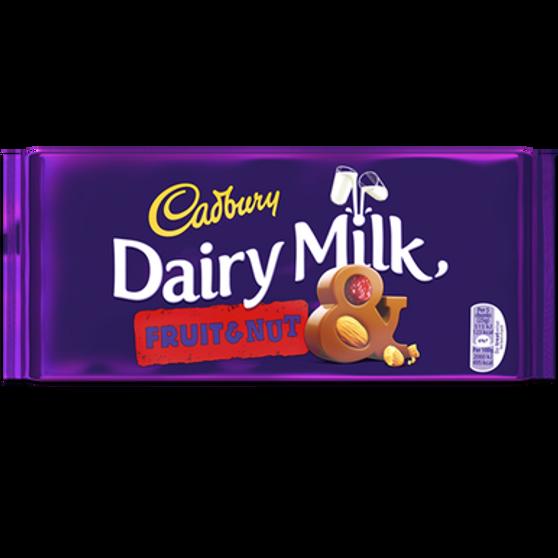 Dairy Milk Fruit & Nut