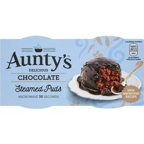 Aunty's Chocolate Steamed Pudding