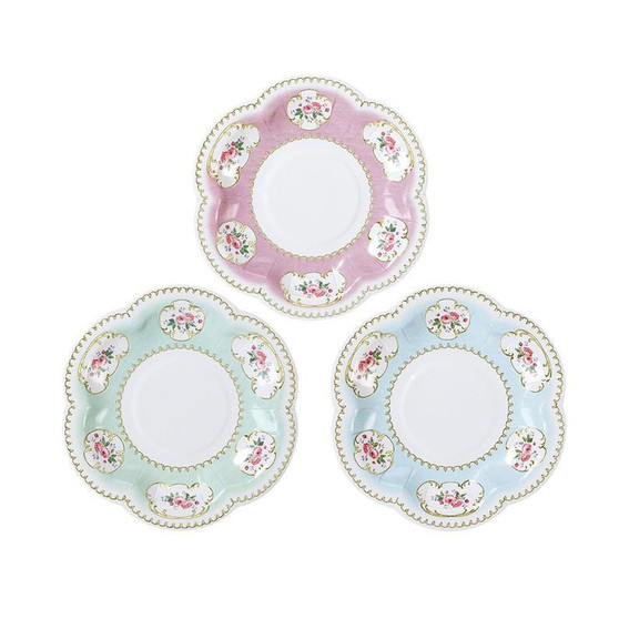 Talking Tables 12 Truly Chintz Paper Plates