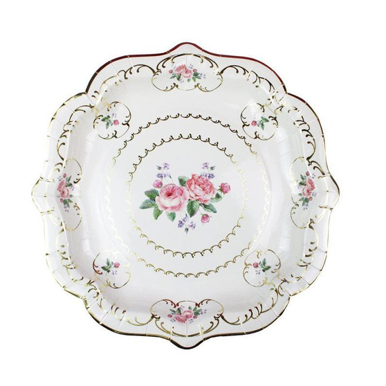 Talking Tables 8 Truly Chintz Paper Plates