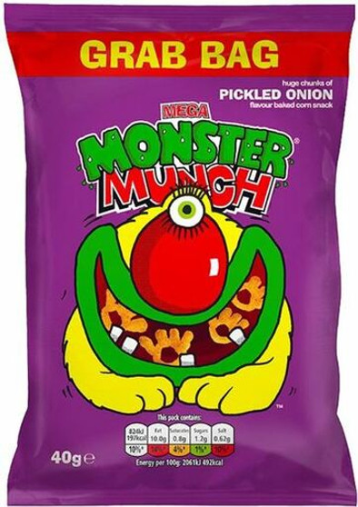 Walkers Monster Munch Pickled Onion