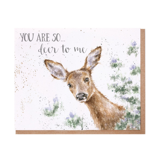 Wrendale You Are So Deer To Me card