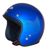 Jetpro 2 Low Rider - Open Face Helmet - Candy Blue - CLOSEOUT SALE!