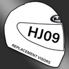 HJC HJ-09 Helmet Visor Only - Clear or Light Smoke Colour