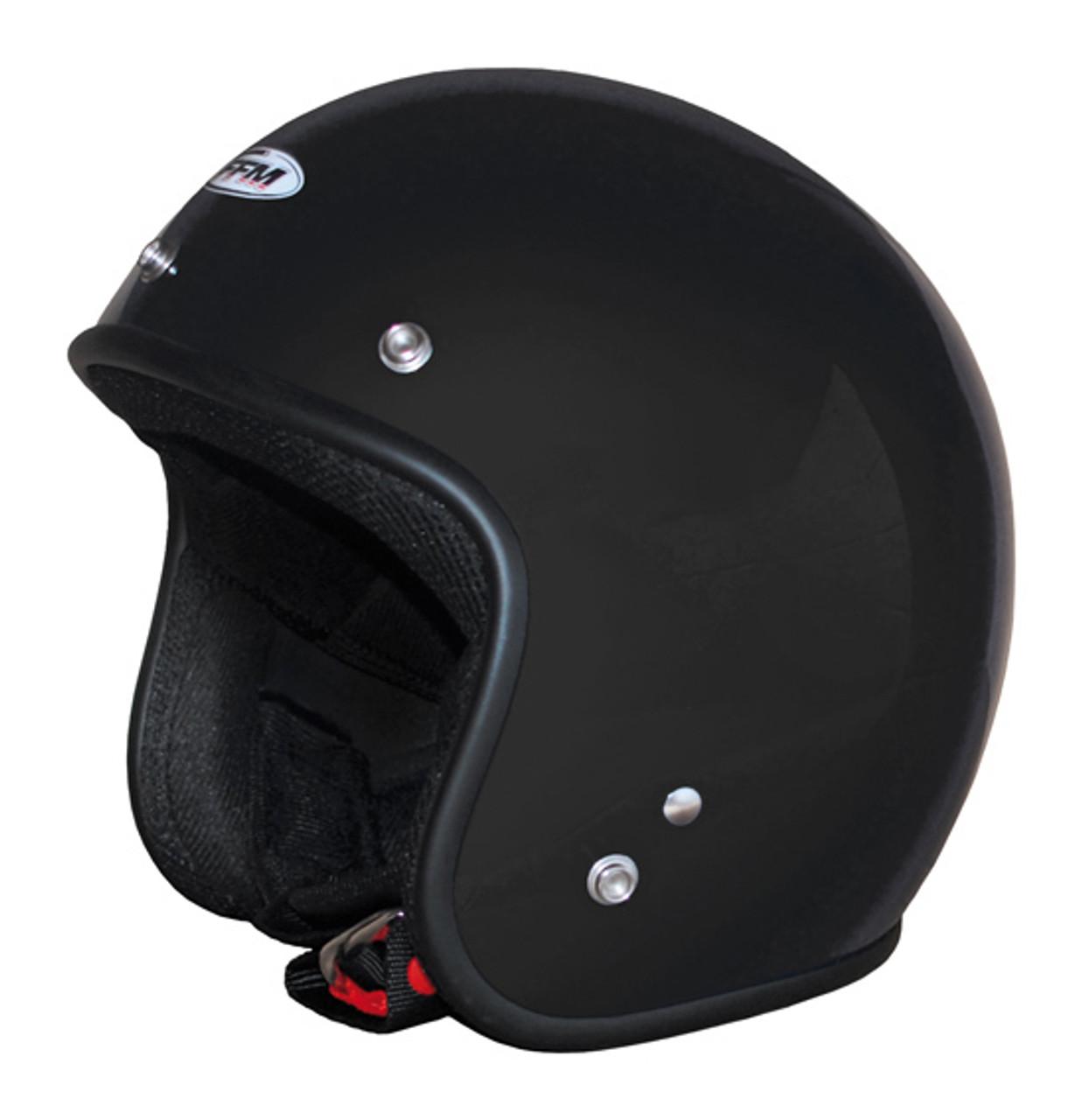 FFM Jetpro 2 Low Rider - Open Face Helmet - Gloss Black