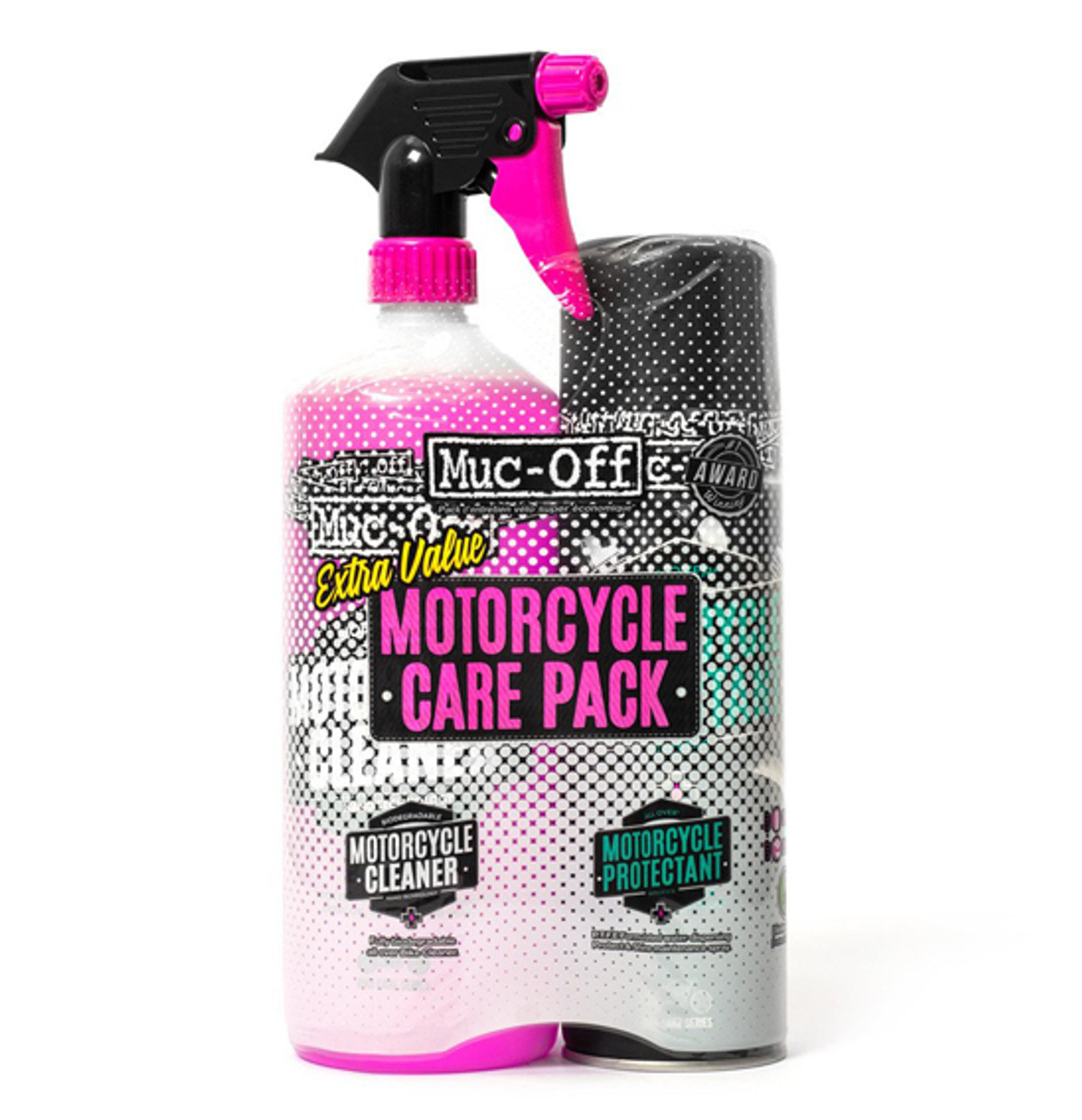 Muc-Off Motorcycle Care Duo Kit (#625)