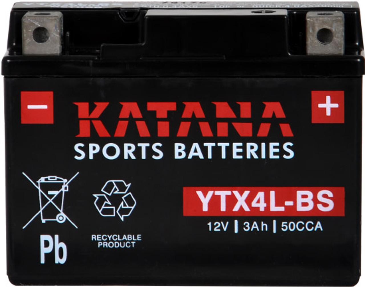 YTX4L-BS Sports Battery (YTX4LBS)