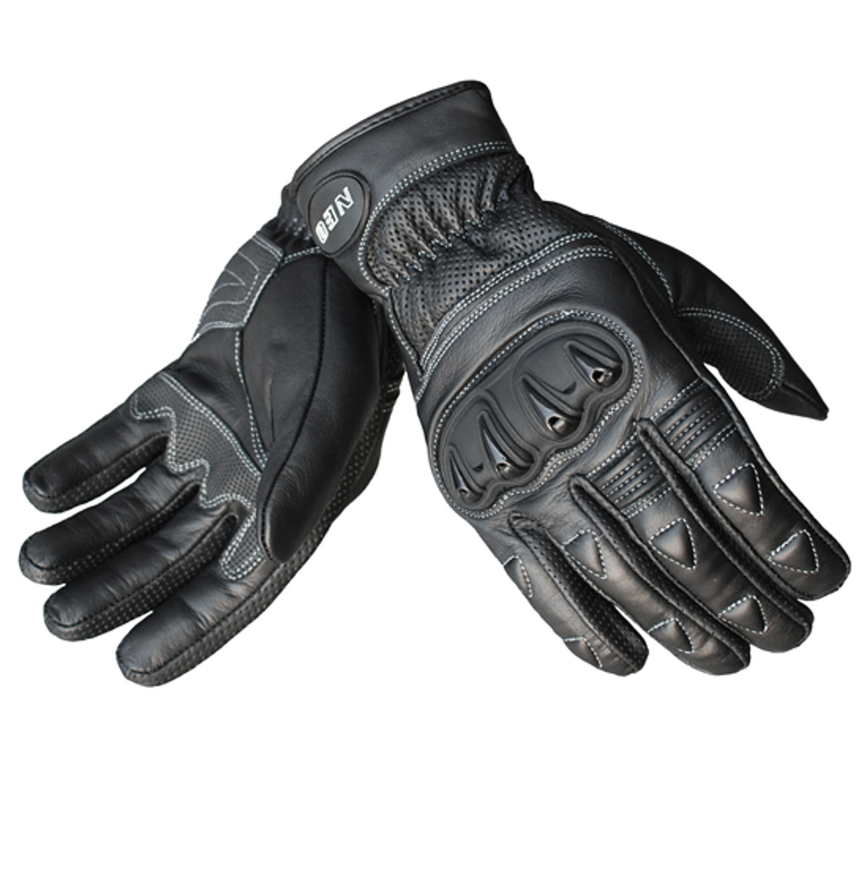 NEO Dart Motorcycle Glove - Leather Sport/Urban, Black