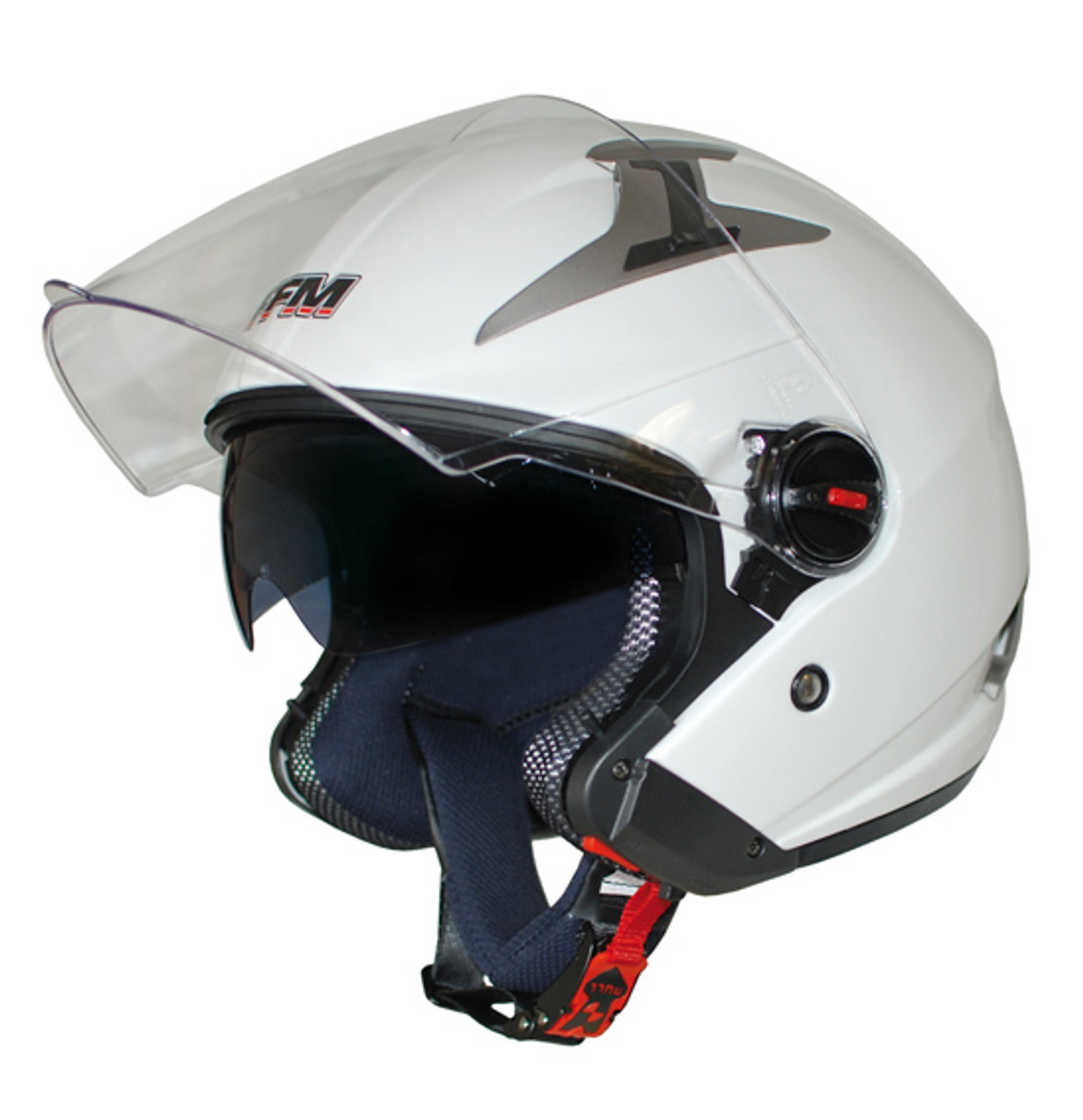FFM URBAN 3 Modular Helmet, Gloss White (XS 54cm) - CLOSEOUT SALE