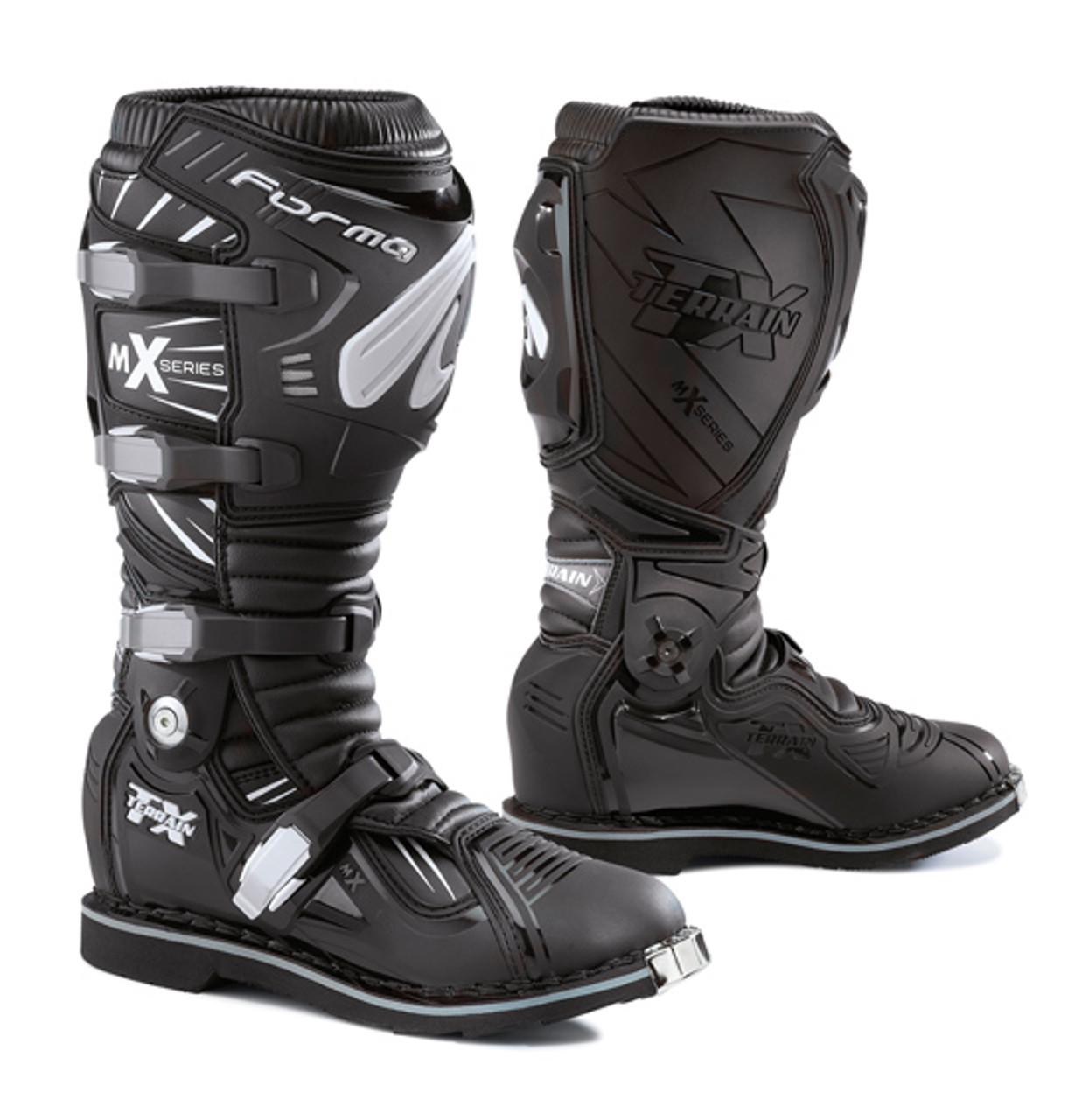 Forma Terrain TX Motorcycle Boots - MX/Trail, Black