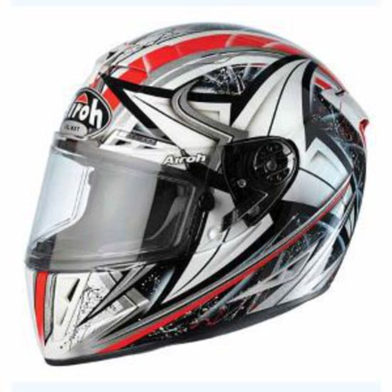 Airoh GP Full Face Helmet - Winder, Top Spec Race,  (Red) GPW55 XL 61cm - CLEARANCE SALE!