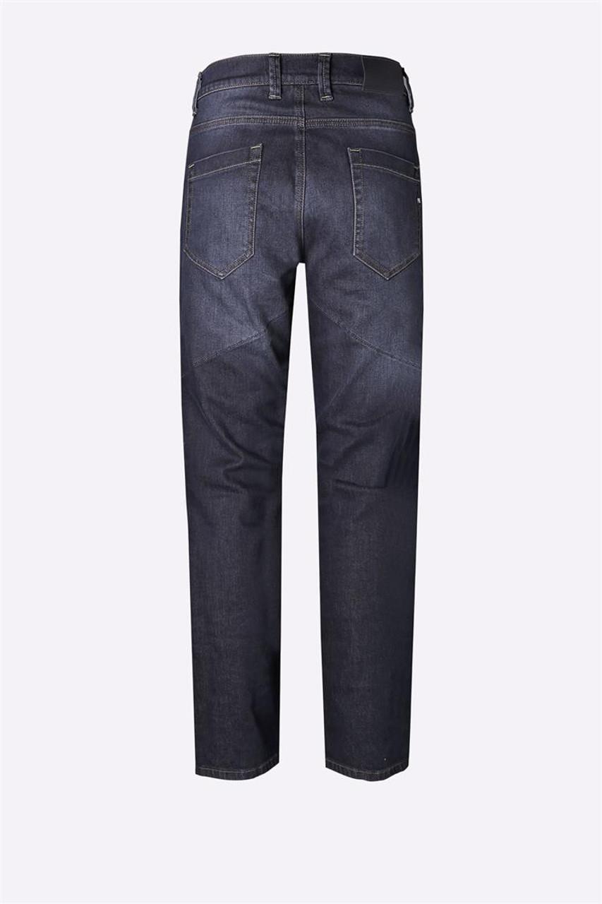 PMJ Motorcycle Denim Jeans Voyager Short Leg, Man, Italy, TWARON® Ballistic Fabric, Blue