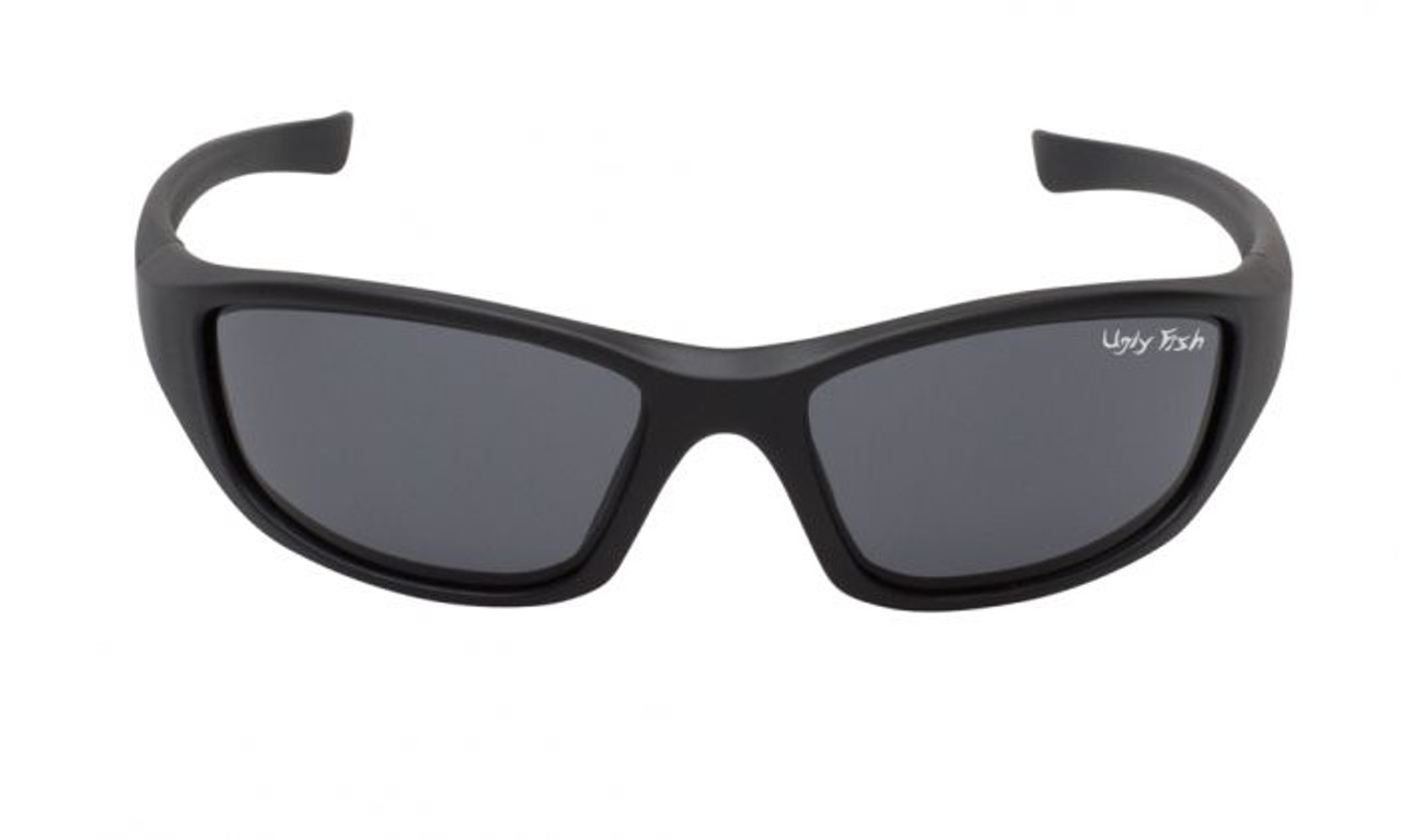 7afee88b4f8f Ugly Fish Slingshot RS2730 Safety Eyewear, Motorcycle Glasses, Black with  Smoke Lens