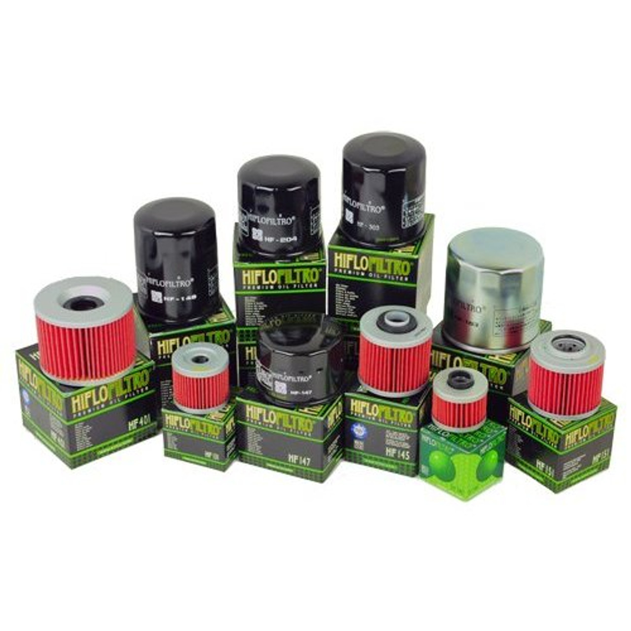 Hiflo HF138C Chrome Oil Filter