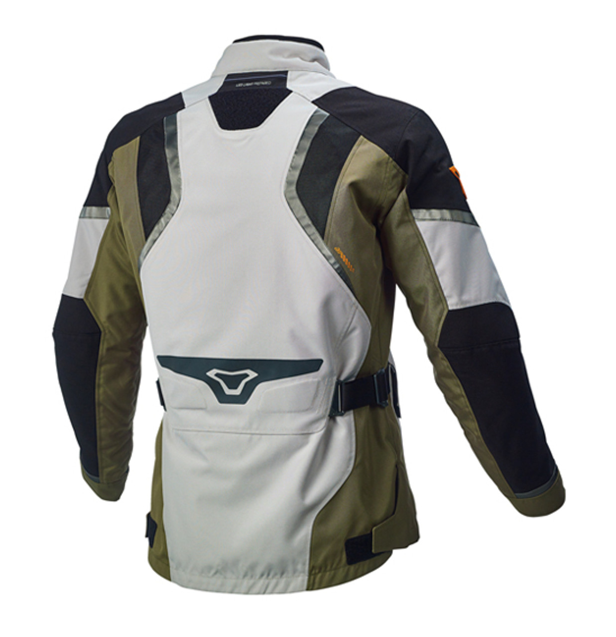 Macna Epitude Motorcycle Jacket - Men, Waterproof, Light Grey / Black / Grey