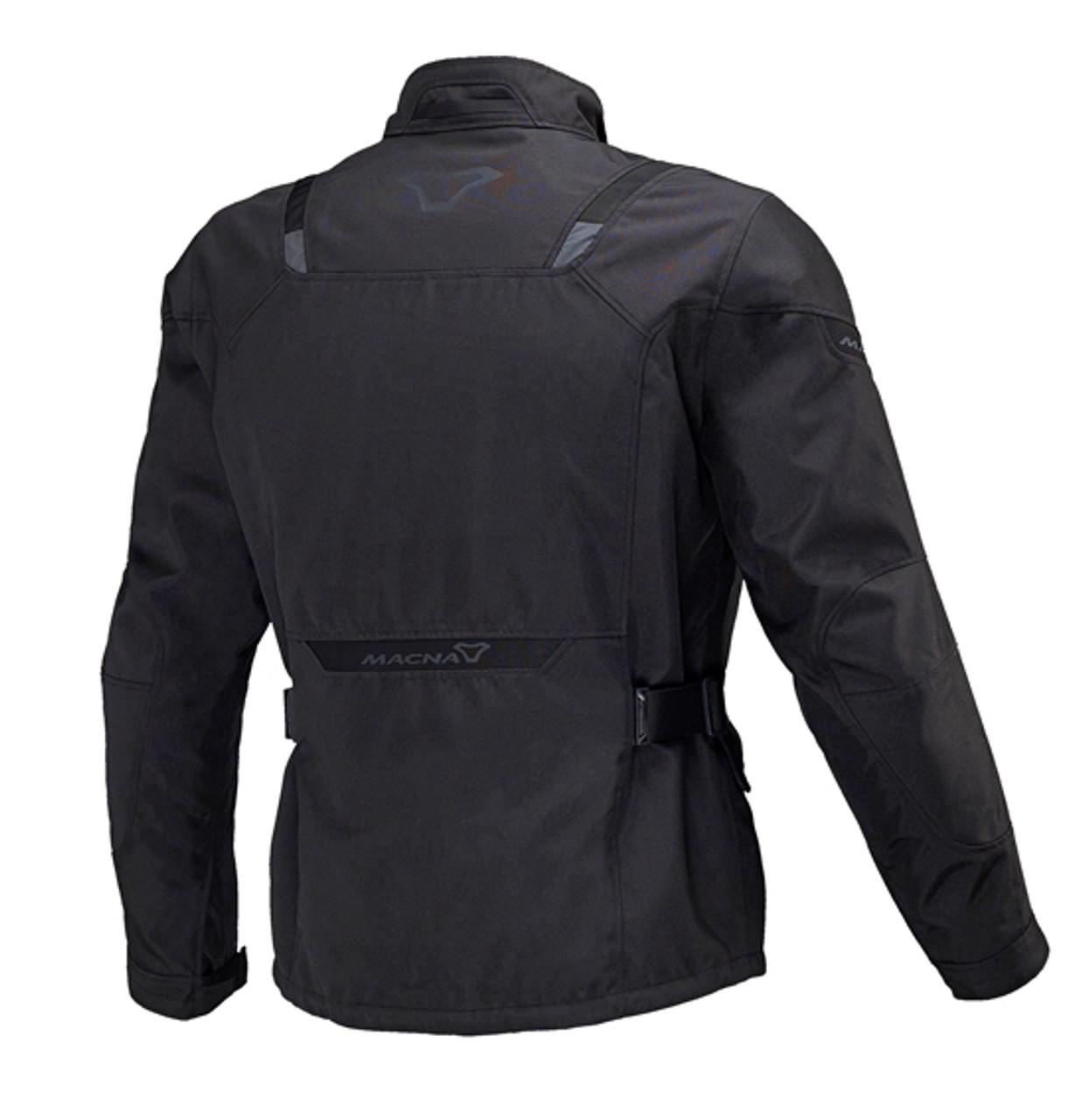 Macna Essential Motorcycle Jacket - Men, Waterproof, Black