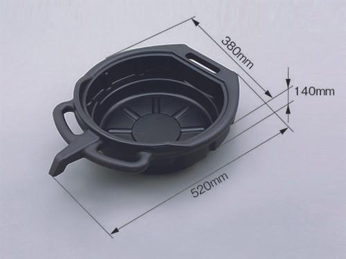 Plastic Oil Drain Pan, 7.5l